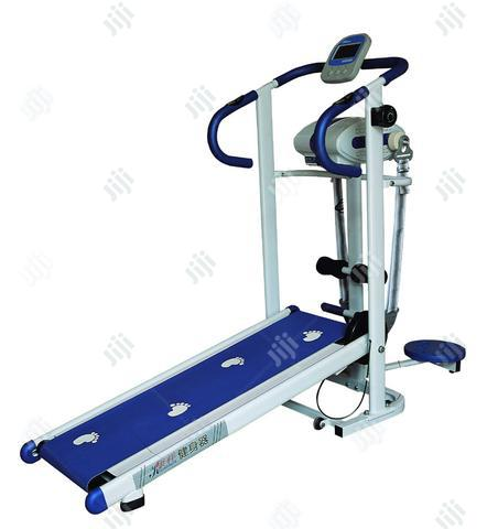 Brand New Imported Manual Treadmill With Waist Twister and Massager