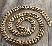 Cuban Gold Necklace Chain Available as Seen Order Yours Now | Jewelry for sale in Lagos State, Lagos Island