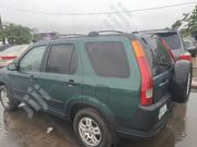Honda CR-V 2004 EX 4WD Automatic Green | Cars for sale in Lagos State, Amuwo-Odofin