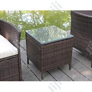 Deluxe Outdoor Rattan Square Glass Table | Manufacturing Services for sale in Lagos State, Ikeja