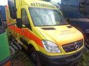 Mercedes Benz Ambulance Yellow | Buses & Microbuses for sale in Lagos State, Ifako-Ijaiye