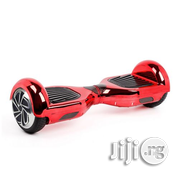 Hoverboard Auto Self Balancing 2 Wheel Bluetooth Speaker - Chrome Red | Sports Equipment for sale in Lagos State, Ikeja