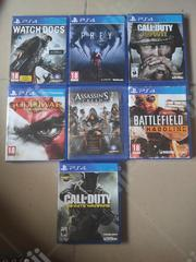 PS4 Games For Sale - 4k Each | Video Game Consoles for sale in Lagos State, Alimosho