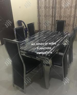 Brand New Super Smart Six Seater Marble Dining Table