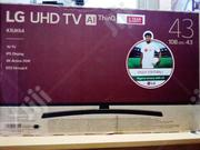 "New LG Uhd 43"" Inches Tv, Voice Remote Control, Ai Thinq 