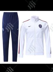 PSG Official 2019/20 White Blue Tracksuit Pants | Clothing for sale in Lagos State, Surulere