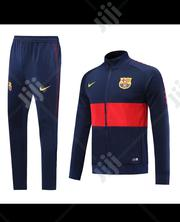 Barcelona Official 2019/20 Blue Tracksuit Pants | Clothing for sale in Lagos State, Surulere