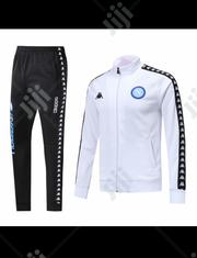 Napoli Official 2019/20 Black White Tracksuit Pants | Clothing for sale in Lagos State, Surulere