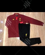 Liverpool Official 2019/20 Red Black Tracksuit Pants | Clothing for sale in Lagos State, Surulere