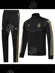 Real Madrid Official 2019/20 Black Tracksuit Pants | Clothing for sale in Lagos State, Surulere