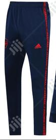 Arsenal Official 2019/20 Navy Blue Tracksuit Pants | Clothing for sale in Surulere, Lagos State, Nigeria
