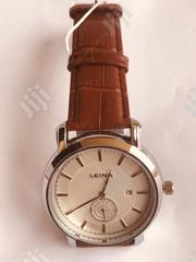 Leina Women Quartz Watch Genuine Leather Band - 3507 | Watches for sale in Lagos State, Amuwo-Odofin