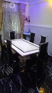 This A Classic Marble Marble Dinning Table With Six Chairs | Furniture for sale in Lagos State, Ikeja
