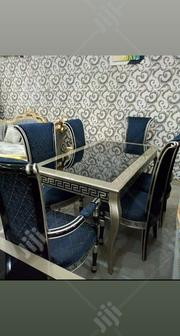This Is a Classical Pure Wooden Versace Dinning Table With Six Chairs | Furniture for sale in Lagos State, Ikeja