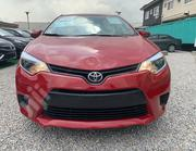 Toyota Corolla 2014 Red | Cars for sale in Lagos State, Lekki Phase 1