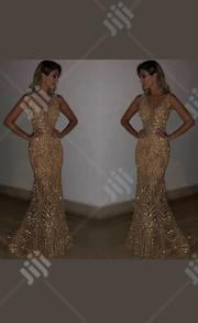 Long Mermaid Sequins Gold Silver Prom Party Evening Dress Ball Gown | Clothing for sale in Rivers State, Port-Harcourt