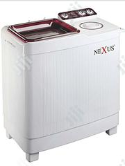 Nexus 9.2kg Semi Automatic Washing Machine CV- NX-WM-9SASB - Red | Home Appliances for sale in Lagos State, Ojo