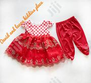 Red Dress N Leggings | Children's Clothing for sale in Lagos State, Amuwo-Odofin