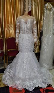 Wedding Gown for Rent With Veil, Basket Robe | Wedding Wear for sale in Lagos State, Magodo