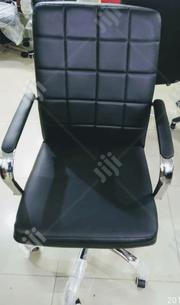 Italian Leather Visitors Chair | Furniture for sale in Lagos State, Ikeja