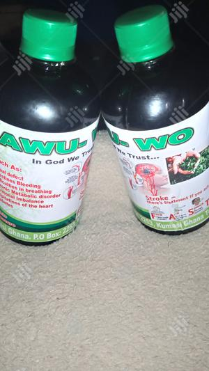 Awuwo Herbal Drink For High Or Low Blood Pressure