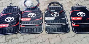 Car Mats And Steering Wheel Cover