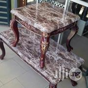 A Set Of Wooden Center Table In A Marble Form(WCTB 999)Model | Furniture for sale in Lagos State, Ojo