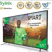 "Syinix 55"" Inch Android 4K UHD Smart LED TV - T710U Series 