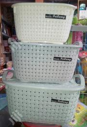 3 Set Basket With Lid | Home Accessories for sale in Lagos State, Lagos Island