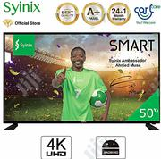 "Syinix 50"" Inch Smart Android 4K 