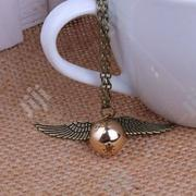 Harry Potter Golden Snitch Necklace | Jewelry for sale in Lagos State, Surulere