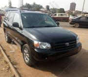 Toyota Highlander 2005 4x4 Black | Cars for sale in Oyo State, Ibadan North East