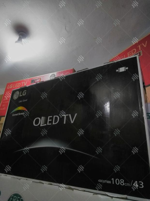 Oled LG Curved Television 43incsh