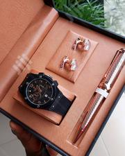 Hublot Gift Set For Men | Watches for sale in Delta State, Uvwie
