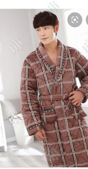Adult Bathrobe Blue Check | Clothing for sale in Lagos State, Surulere