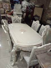 Royal Wooden Dining Table With Chairs | Furniture for sale in Lagos State, Amuwo-Odofin