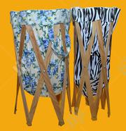 Laundry Basket With Wooden Stand | Home Accessories for sale in Lagos State, Magodo