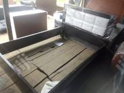 41/2by6 Bed Frame With a Bedside Drawer | Furniture for sale in Lagos State, Ajah