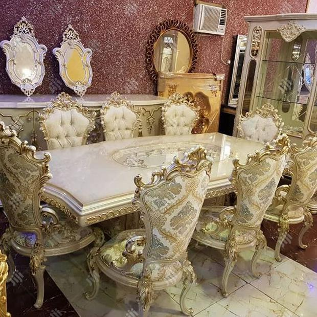 Royal Turkey Dinning Table With Chairs