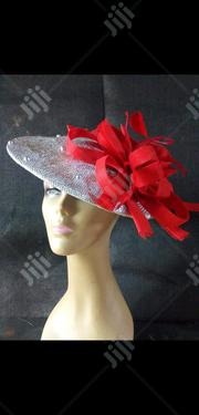 Women Formal Designer Hat in Red | Clothing Accessories for sale in Lagos State, Lagos Island