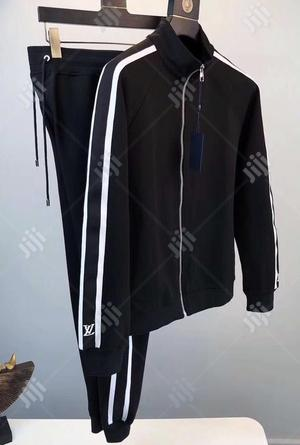 Original Louis Vuitton Tracksuit Available In Gbagada - Clothing