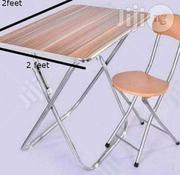 Universal Foldable Mini Table And Chair - 2ft × 2ft Table | Furniture for sale in Lagos State, Lagos Island