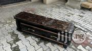 Wooden TV Stand With Glass Top  | Furniture for sale in Lagos State, Ojo