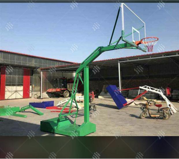 Brand New Commercial Basketball Stand