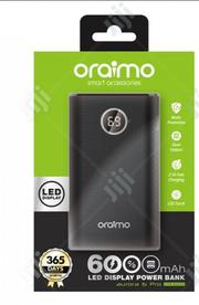 Oraimo 6000 Mah Power Bank With TORCH | Accessories for Mobile Phones & Tablets for sale in Lagos State, Ikeja