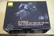 Nikon D750 Body & 24-120mm F4 (Used Like New ) | Photo & Video Cameras for sale in Lagos State, Gbagada