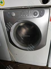 8kg UK Used Hotpoint Wash and Dry Washing Machine With Warranty | Manufacturing Equipment for sale in Lagos State, Lekki Phase 1