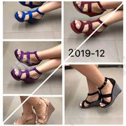 Triple Strap Wedge Sandal | Shoes for sale in Lagos State, Ikoyi