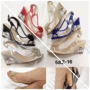 Transparent Cover Wedge Sandal | Shoes for sale in Lagos State, Ikoyi