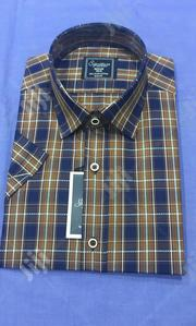 Checked Short Sleeve Men's Shirt's | Clothing for sale in Lagos State, Lagos Island